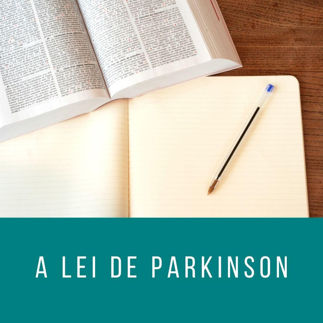 Plano usando a Lei de Parkinson