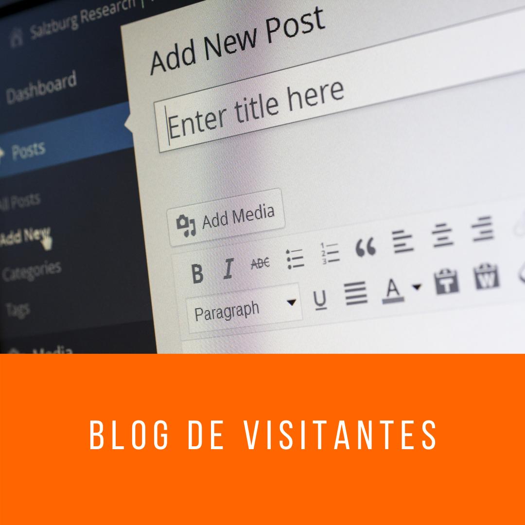 Blog de visitantes
